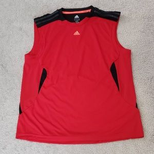Mens Adidas Size L workout Athletic Tee